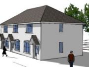 Approved: four two-bedroom houses in Weymouth