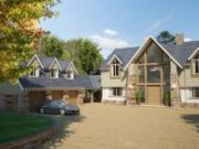 Approved: large replacement 'Superhome' in Avon Castle near Ringwood