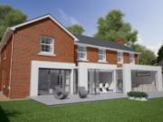 Approved: certificate of lawful development for a modern rear extension in Four Marks