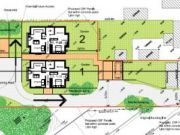 Approved: backland development of four houses in Northbourne/Kinson