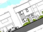 Approved at committee: erection of a 3 bedroom semi-detached house in Canford Heath, Poole