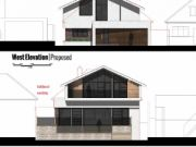 Approved: complete remodel and large extensions at Barton on Sea, Hampshire