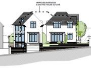 Won on appeal: residential plot split in Lilliput, Poole
