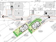Approved: further backland development for two house scheme in Northbourne/Kinson