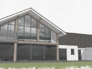 Approved: extensions and complete remodel to a house in Isle of Anglesey