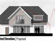 Approved: extensions and remodel of bungalow in Wimborne, Dorset