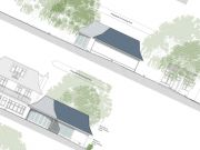Approved: swimming pool building, double garage and wall alterations in Branksome Park, Poole