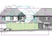 Approved: Two new large (c5000sqft) family dwellings in Evening Hill near Lilliput, Poole