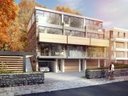Approved: three-unit contemporary townhouse development in Alton Road, Poole