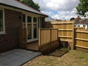 Won on appeal with full award of costs: amendment to three bungalows in Ensbury Park, Bournemouth