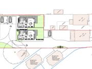 Approved: revised backland development for four houses in Northbourne, Bournemouth