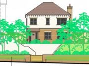 Approved: plot split with a new three bedroom dwelling at Northbourne, Bournemouth
