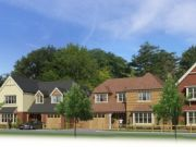 Approved: four new houses following demolition of a bungalow in Highcliffe, Dorset