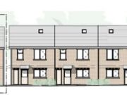 Approved: five family houses on a brownfield site in Poole