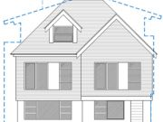 Approved: two semi-detached houses in Southbourne, Dorset