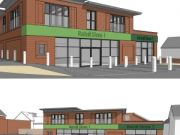 Approved: redevelopment of petrol station with mixed-use retail and residential development in Weymouth