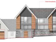 Approved: contemporary replacement dwelling in Alton, East Hampshire