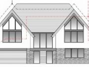 Approved: replacement contemporary 5-bedroom house in Christchurch, Dorset