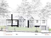 Approved: two dwellings in Locks Heath, Southampton