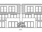 Won at appeal: two dwellings in Branksome Park, Poole