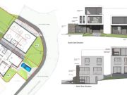 Approved: two contemporary dwellings in Parkstone, Poole