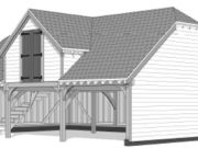 Approved: erection of an oak-frame outbuilding in New Forest National Park conservation area