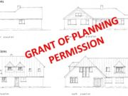 Approved: extensions incorporating a new roof for a house in Ashley Heath, Dorset