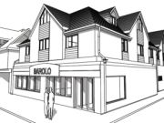 Approved: altered consent for two new floors of 10 flats above restaurant in Bournemouth