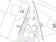 Approved: new house on lock-up garage site in Hamble, Hampshire
