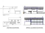 Won on appeal: extensions and complete face-lift of house in Christchurch