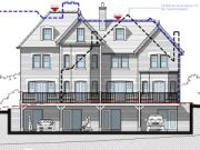 Approved: four-house scheme in Bournemouth conservation area