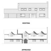 Approved: extensions and remodel of existing dwelling on Merley Park Road, Poole