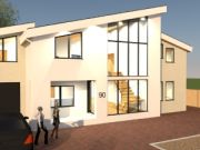 Approved: Erection of replacement house in the flood zone in Poole