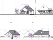 Approved: two chalet bungalows in Barton on Sea