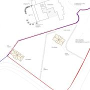 Approved: two new dwellings in Poole green belt