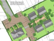 Approved: seven houses on backland site in Holbury, New Forest