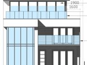Won on appeal: balcony extension to new house in Sandbanks, Poole