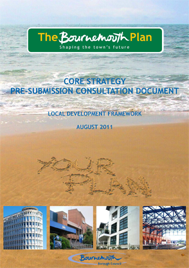 Pure Town Planning - The Bournemouth Plan, Bournemouth Core Strategy