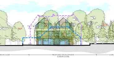 Pen Hill Poole Dorset planning permission