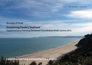 Poole Seafront Strategy