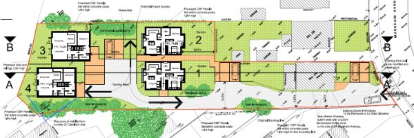 Northbourne four house planning consent