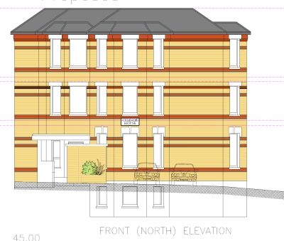 Bournemouth town centre ten flats planning approved