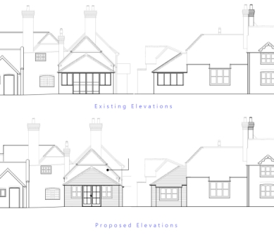 Andover listed building extension planning consultant bournemouth