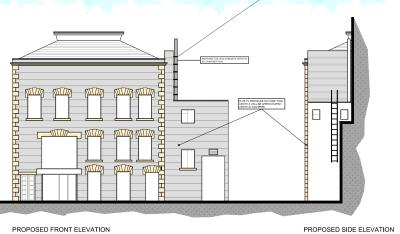 Casino flues as proposed planning consultant Dorset