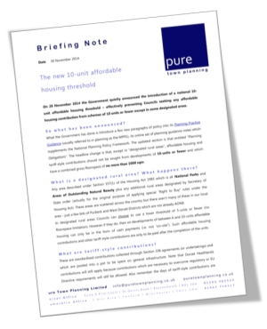 Briefing Note planning consultants dorset planning consultants hampshire