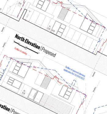 Cardiff replacement dwelling approved planning consultants bournemouth