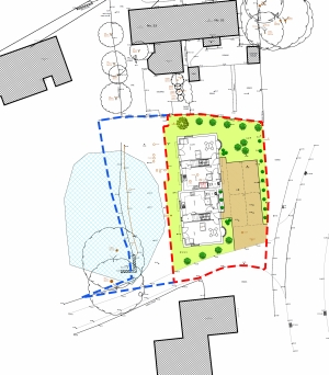 Walkford Christchurch two dwellings planning consultant dorset