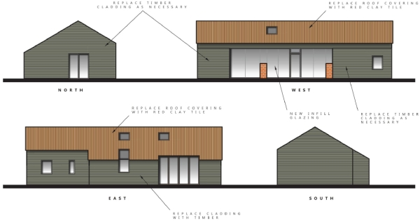 Prior approval barn conversion planning consultants Hampshire