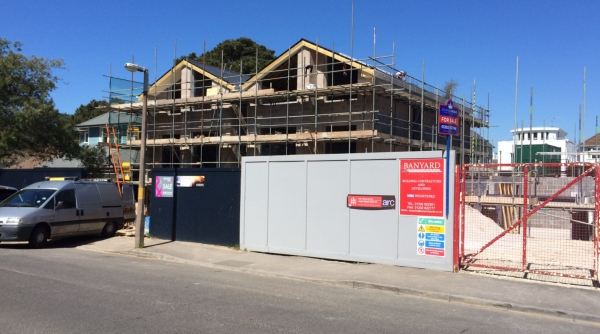 Approved two detached houses Sandbanks planning consultants Bournemouth
