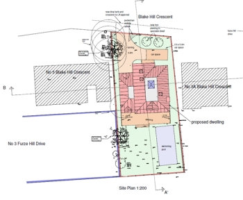 Planning approval plot split planning consultants Bournemouth